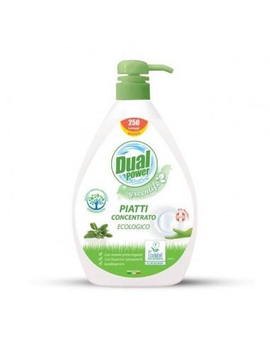 DUAL POWER Eko Żel do mycia naczyń, 1 l