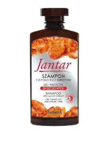 FARMONA Jantar szampon do włosów zniszczonych, 330 ml