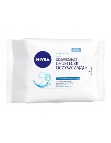 NIVEA 3w1 Odświeżające chusteczki do...