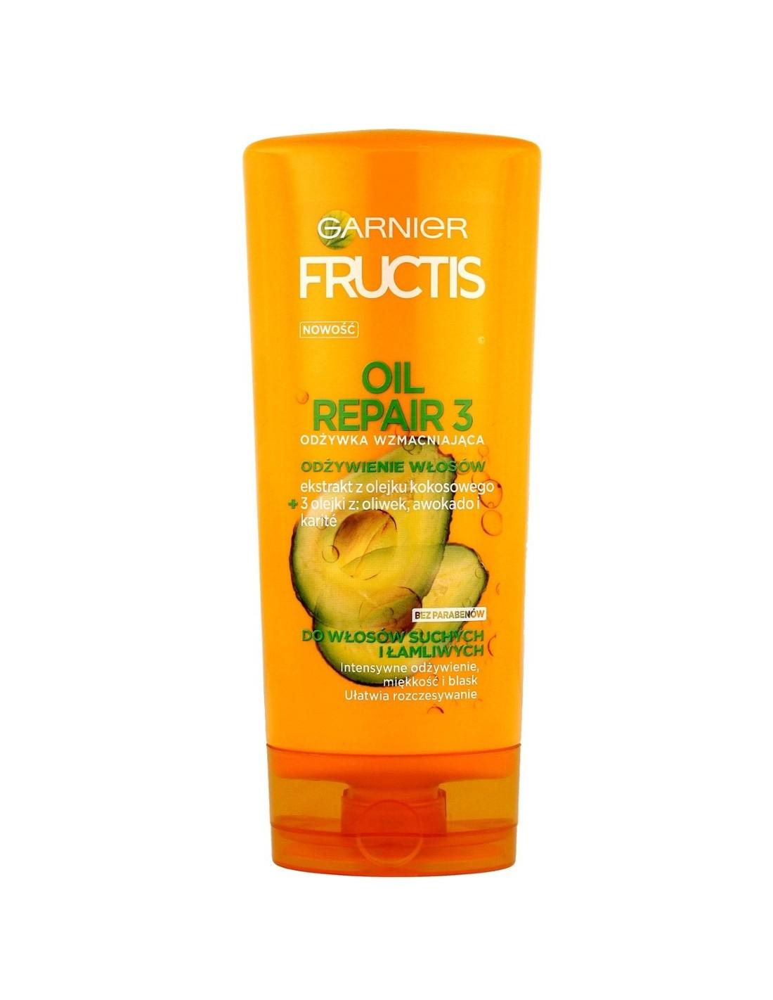 Garnier Fructis Oil Repair 3 Odżywka Wzmacniająca Do Włosów Suchych