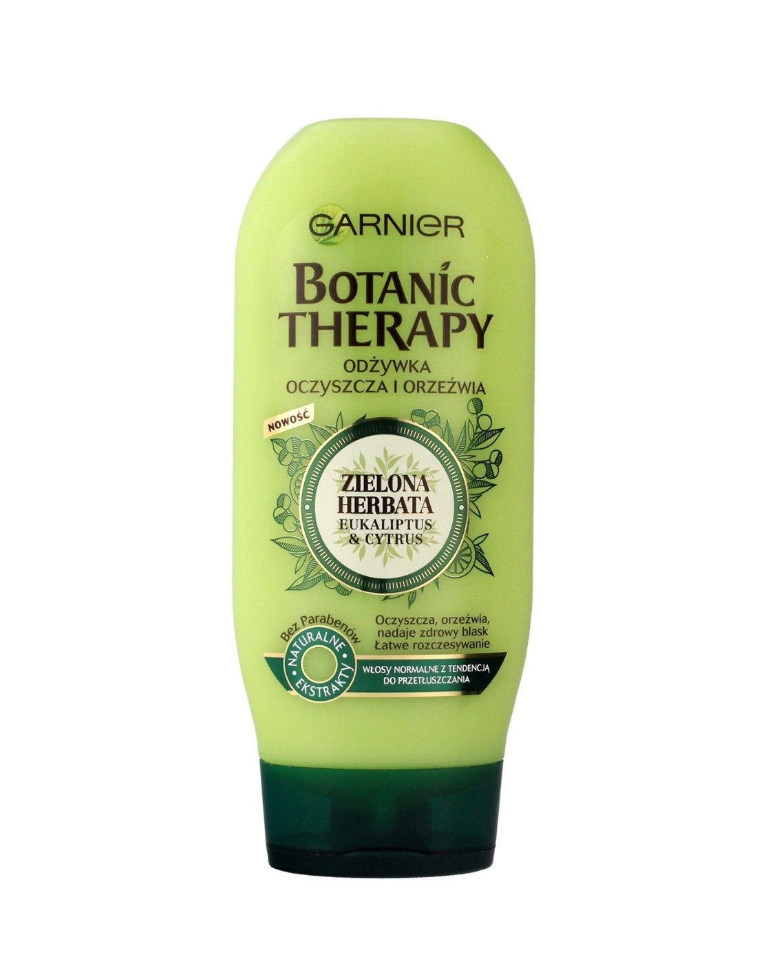 Garnier Botanic Therapy Odżywka Do Włosów Normalnych Zielona Herbata