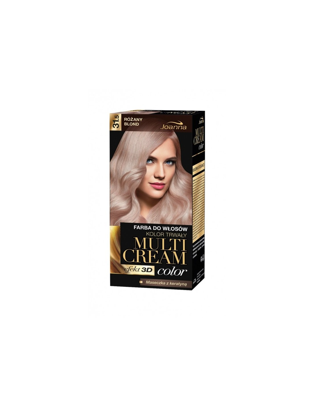 Joanna Multi Cream Color Farba Nr 31 5 Rozany Blond